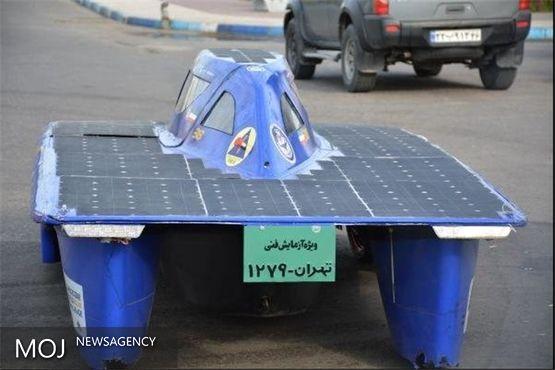 خودروی خورشیدی غزال ۳ فردا وارد یزد میشود