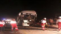 اسامی مصدومان تصادف اتوبوس مشهد یزد اعلام شد