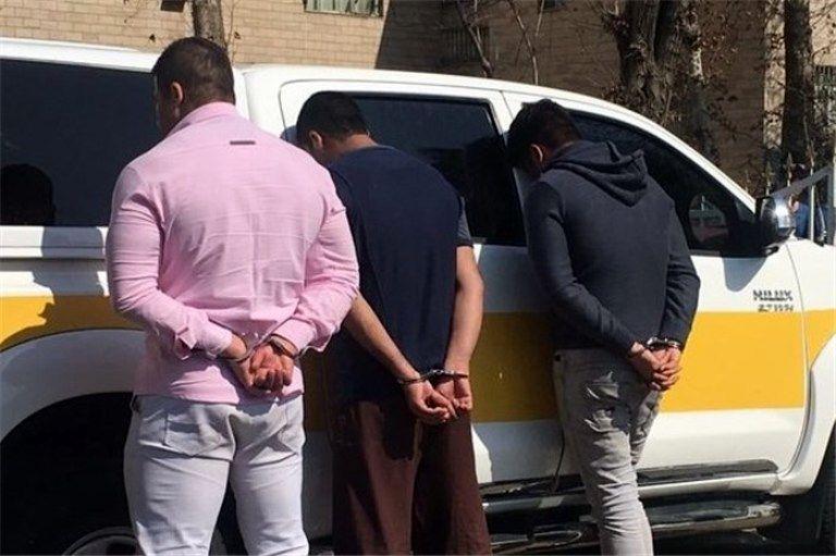 کشف 50 فقره سرقت از باند سارقان خودرو در کرمانشاه