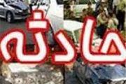 یک کشته و 5 مصدوم درواژگونی خودرو سورنتو در  اردستان