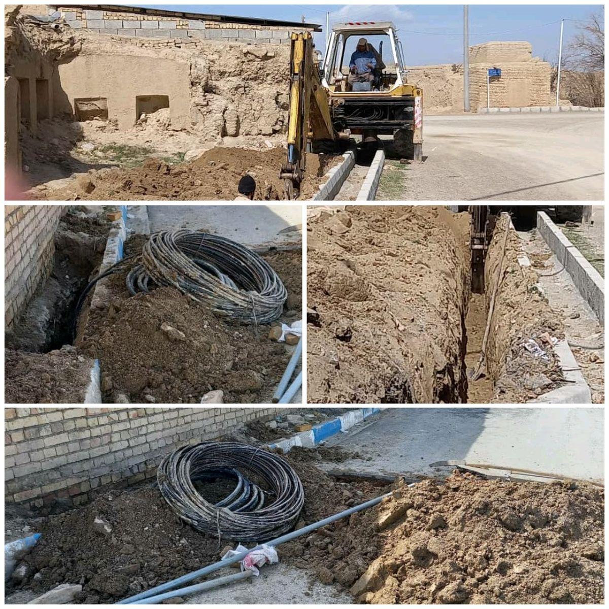 توسعه زیرساخت های ارتباطی در شهرستان گلپایگان