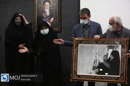 یادبود اولین سالگرد درگذشت فاطمه رهبر نماینده مجلس یازدهم