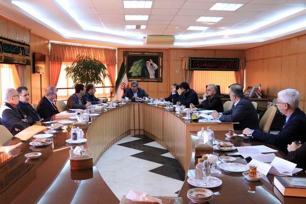 جلسه بررسی آخرین وضعیت تخصیص اعتبارات مصوب سفر رئیس جمهور به گیلان