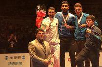 ایران با ۲ طلا نایب قهرمان لیگ جهانی کاراته ژاپن شد