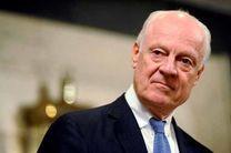 دیمیستورا از تعویق نشست 3 جانبه درباره سوریه خبر داد