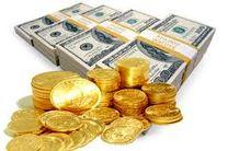 افزایش نرخ دلار و کاهش قیمت انواع سکه های طلا در بازار آزاد