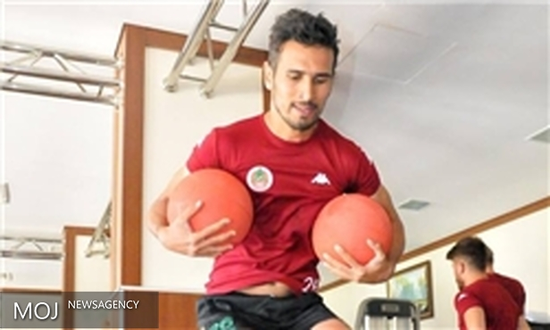 تمرینات فشرده شهباززاده در آلانیا اسپور