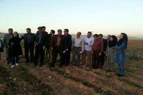 سایت تحقیقاتی - تولیدی و دانش بنیان دکتر جهانگیر در هفته جهاد کشاورزی افتتاح شد
