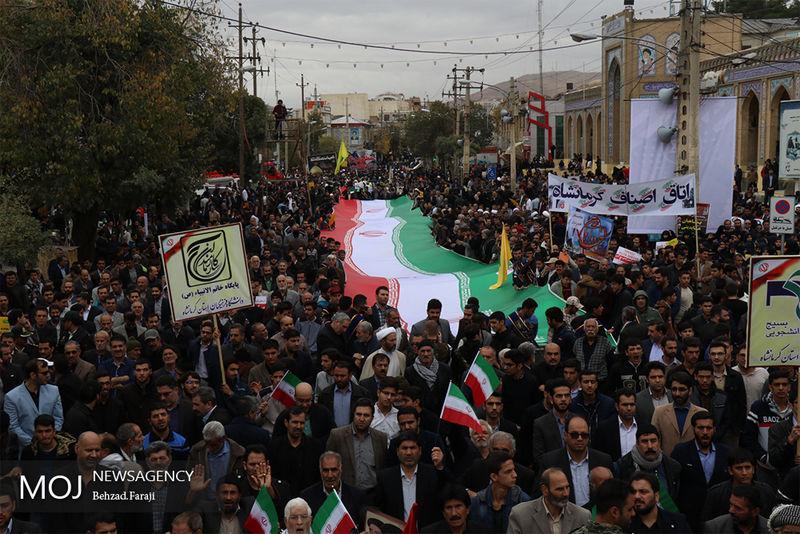 ترامپ درست می گوید ایران در شورش است