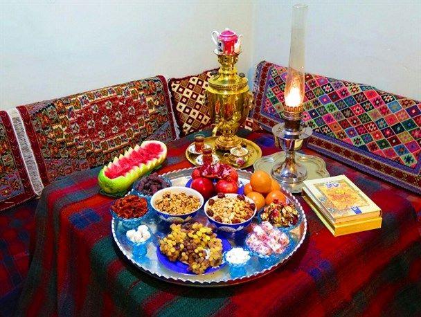 شب چله ؛ زنده نگه داشتن رسم و رسومات کهن در کردستان