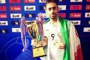 احمدوند مدال طلای آسیا و اقیانوسیه را کسب کرد