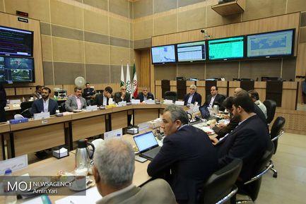 جلسه شورای مدیریت بحران شهر تهران