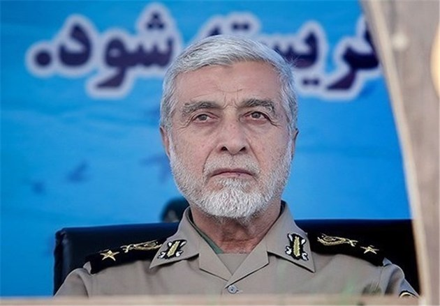 شوخی جالب فرمانده جدید ارتش با فرمانده سابق