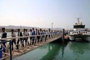 دهمین دوره از اردوی راهیان نور دریایی کلید خورد/اعزام اولین گروه راهیان نور دریایی