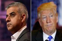 صادق خان: ادعاهای ترامپ شبیه داعش است