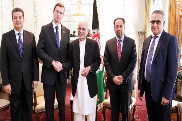 سفیر جدید آلمان در کابل استوارنامه خود را تقدیم «اشرف غنی» کرد
