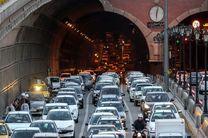 ترافیک سنگین در معابر بزرگراهی پایتخت