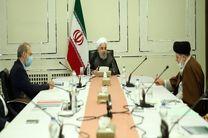 جلسه سران قوا با روسای کمیته های ستاد مقابله با کرونا برگزار شد