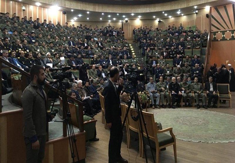 نخستین همایش ملی واکاوی تهدیدهای نوپدید دفاعی نظامی برگزار شد