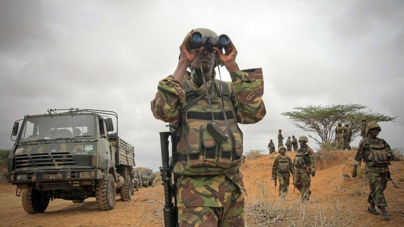 Al-Shabaab attacks a military base in Kenya that houses US & local troops