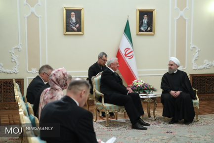 رییس جمهور در دیدار رییس مجلس ملی بلاروس