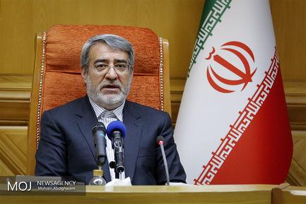 دیدار وزرای کشور ایران وترکیه/ رحمانی فضلی