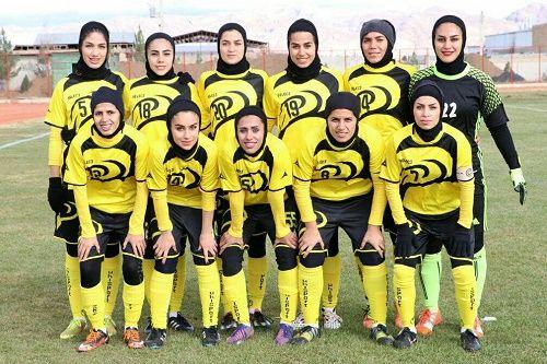 پیروزی پرگل تیم فوتبال بانوان سپاهان در شیراز