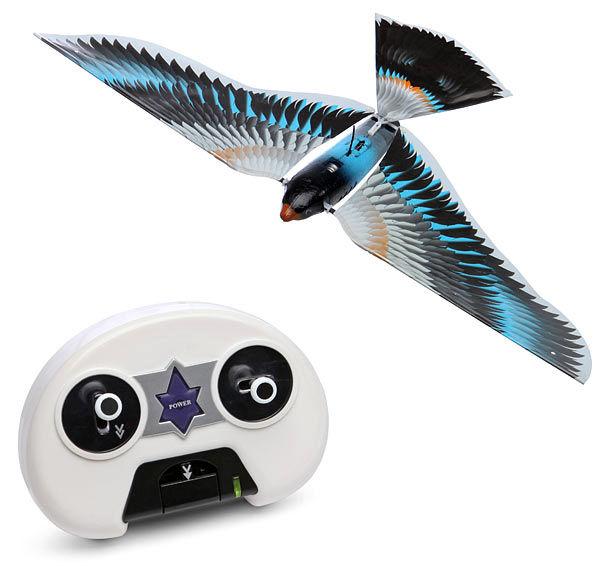 پرنده ی رباتیک تغییر شکل می دهد