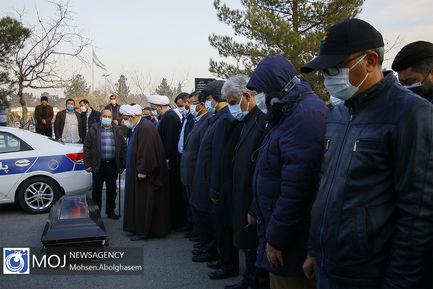 تشییع و تدفین پیکر علی انصاریان