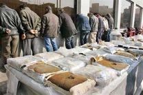 انهدام باند مسلح قاچاقچیان در سرباز سیستان و بلوچستان/4 تن انواع مواد مخدر کشف شد