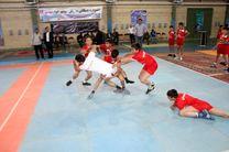 اعزام تیم جوانان استان کرمانشاه به مرحله نهایی رقابتهای کبدی