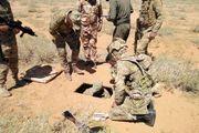 کشف یک پایگاه بزرگ زیرزمینی داعش در غرب استان الانبار