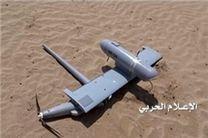 سرنگونی پهپاد جاسوسی عربستان در غرب صعده