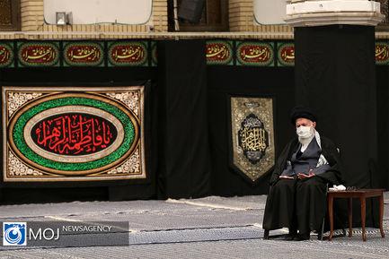دومین شب عزاداری حضرت فاطمه (س) با حضور رهبر انقلاب