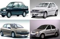 قیمت خودروهای داخلی 12 شهریور 98/ قیمت پراید اعلام شد