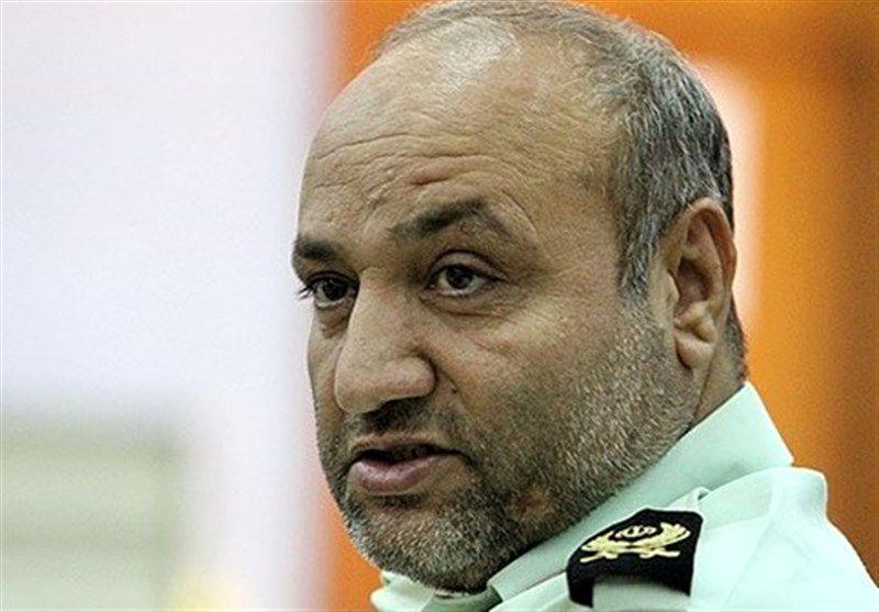 فرمانده نیروی انتظامی خوزستان در ستاد مشترک راهیان نور جنوب حضور یافت