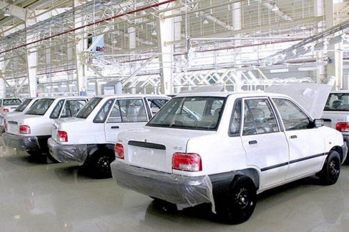قیمت خودرو امروز ۱۷ مهر ۱۴۰۰/ قیمت پراید اعلام شد
