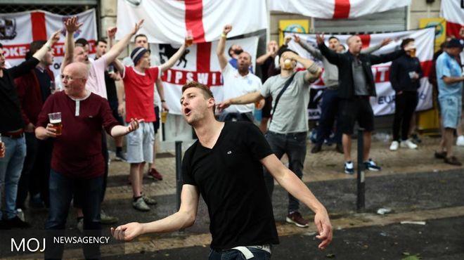 دردسر هوادار انگلیسی به علت مصرف بیش از حد مشروبات الکلی