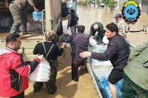 بسیج کامل امکانات بانک ملی ایران در کمک رسانی به مناطق سیل زده