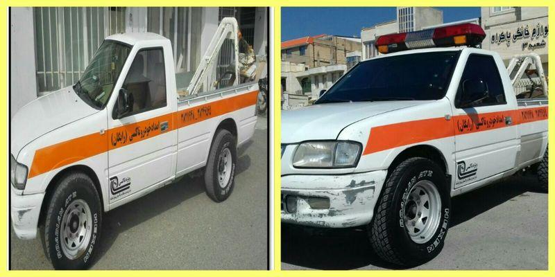 خدماترسانی رایگان به بیش از 1200 تاکسی خراب در کرمانشاه