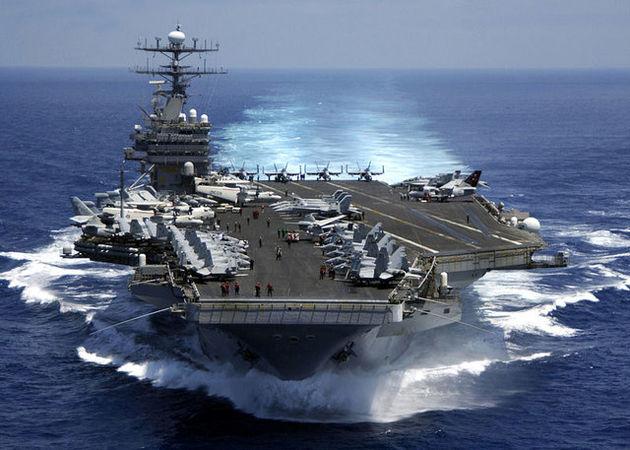 سه ناو هواپیمابر آمریکایی به سمت شبه جزیره کره حرکت کردهاند
