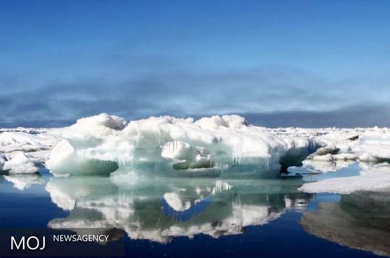 یخ های قطب شمال با سرعت در حال ذوب شدن هستند