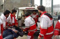 پوشش امدادی هلال احمر به 67 مورد حادثه در اصفهان