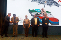 انتخاب شهردار سنندج به عنوان شهردار برتر کشور در حوزه پدافند غیرعامل