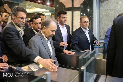 مراسم بهره برداری از 44 دستگاه واگن جدید مترو