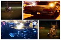 جزییاتی از سانحه سقوط یک خودرو به دریا در بندرلنگه/نجات فرد حاثه دیده توسط غواص