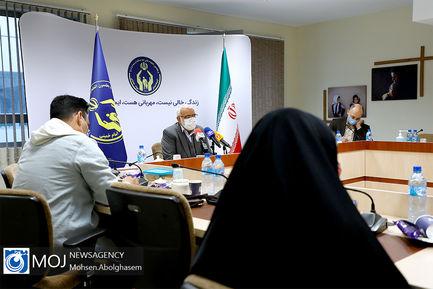 نشست خبری رییس کمیته امداد امام خمینی (ره) - ۱۹ فروردین ۱۴۰۰