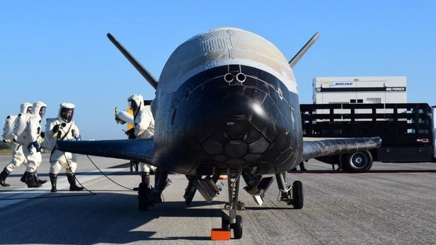 فرود فضاپیمای سری آمریکا پس از رکوردشکنی