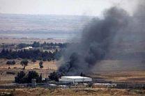 حملات توپخانه ای رژیم صهیونیستی به سوریه