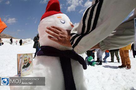 جشنواره آدم برفیهای خوشحال